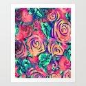 Cira Flora Art Print