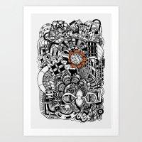 Ovillo Art Print
