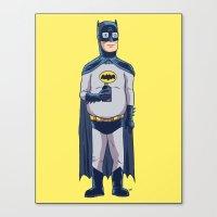 BatHank Canvas Print