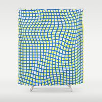 Nets on File Shower Curtain