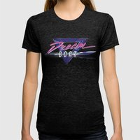 Dream Boat Womens Fitted Tee Tri-Black SMALL