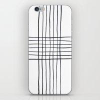 Criss Cross iPhone & iPod Skin