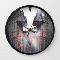 NYC - I Love New York 5 Wall Clock