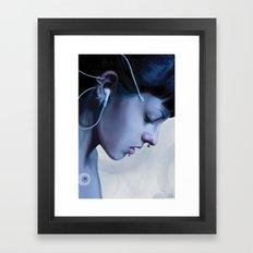 Listen Yourself Framed Art Print
