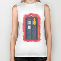 11th Doctor - DOCTOR WHO Biker Tank