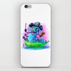 pirate worm iPhone & iPod Skin