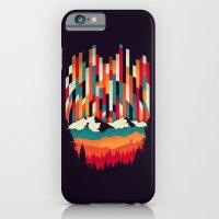 Sunset in Vertical Multicolor iPhone 6 Slim Case