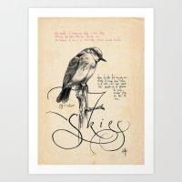 Bird 04 Art Print