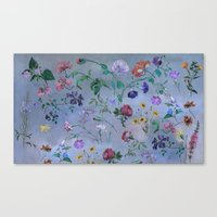 Carpe Diem (flower Colle… Canvas Print