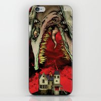 The Worm Of Saturn iPhone & iPod Skin