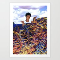 Constant Refresh Art Print