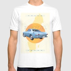 1971 Volvo 1800E Mens Fitted Tee White SMALL