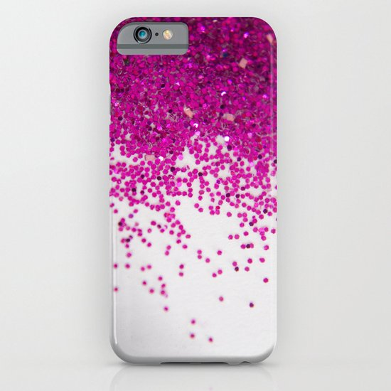 Fun I (NOT REAL GLITTER) iPhone & iPod Case