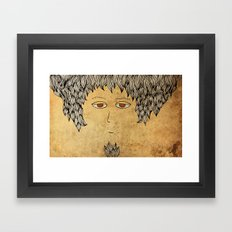 He Is An Architect! Framed Art Print
