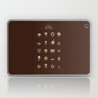 The Exquisite Pop Culture Skulls Museum Laptop & iPad Skin