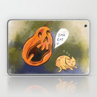 Kitty watch out! Laptop & iPad Skin