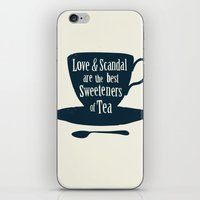 Love & Scandal Are The B… iPhone & iPod Skin
