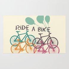 Ride a Bike Rug