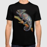 Chameleon(4) Mens Fitted Tee Black SMALL
