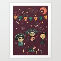 Day Of The Dead (Día De… Art Print