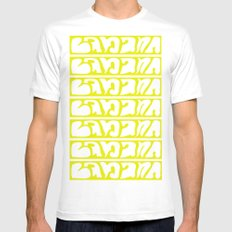 Banana Mens Fitted Tee White SMALL