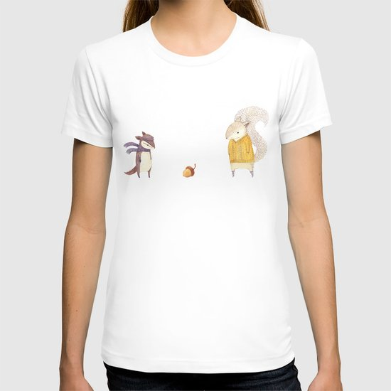 The Last Acorn of Autumn T-shirt
