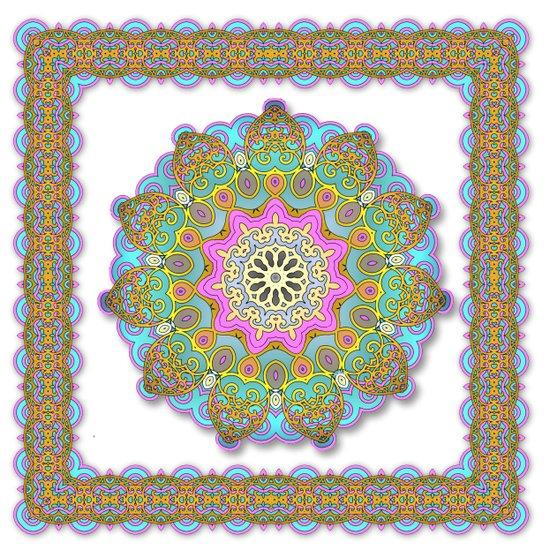 Mix&Match Indian Candy 01 Art Print