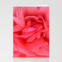 Pretty n Pink Rose Stationery Cards