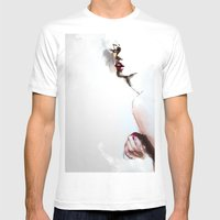 Pi C Mens Fitted Tee White SMALL