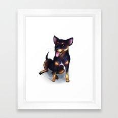 Aska Framed Art Print