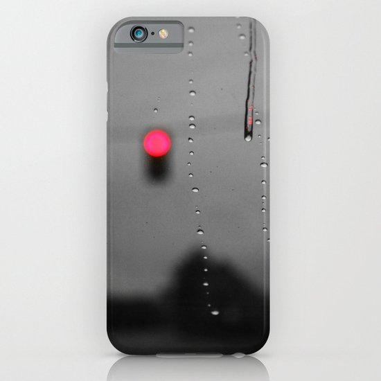Red Lights Ahead iPhone & iPod Case