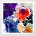 Of Orchids Art Print