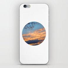 Berkshire Sunset III circle iPhone & iPod Skin