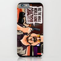 iPhone & iPod Case featuring Over the Line! by BinaryGod.com