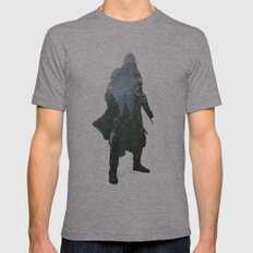 Assassins Creed - Woodland 2 Mens Fitted Tee Athletic Grey SMALL