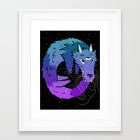 Oroboros Framed Art Print