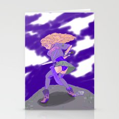 rock vibes Stationery Cards