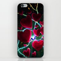 Hearts are meant to break. But there's always more hearts. iPhone & iPod Skin