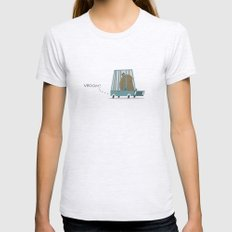 Vroom Womens Fitted Tee Ash Grey SMALL