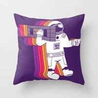 Theres a Tars, Man Throw Pillow
