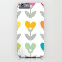 Heart petals iPhone 6 Slim Case