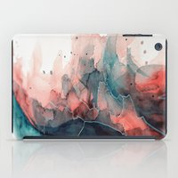 Watercolor Dark Green & … iPad Case