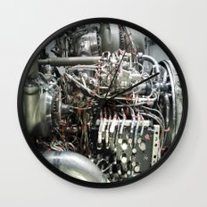 SPACE SHUTTLE ENGINE Wall Clock
