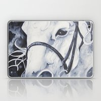 Pale White Horse Laptop & iPad Skin