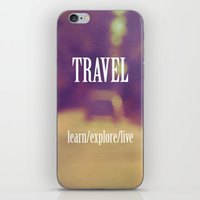 Travel  iPhone & iPod Skin