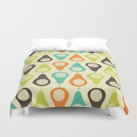 Oh What A Lovely Pear. Duvet Cover