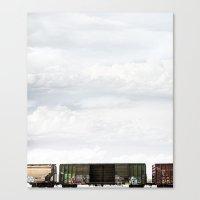 Train 1 Canvas Print