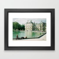 Summers Day Framed Art Print
