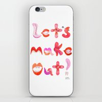 Let's Make Out! iPhone & iPod Skin