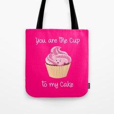 My cupcake - Pink version Tote Bag